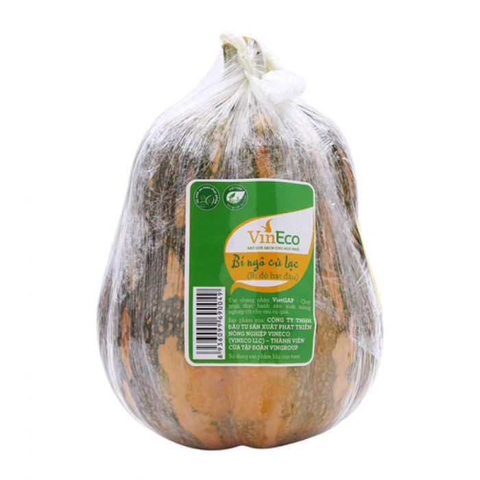 Bí ngô củ lạc (bí đỏ hạt đậu) VinEco