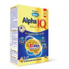 Sữa bột Dielac Alpha Gold IQ Step 4 - Hộp 400g