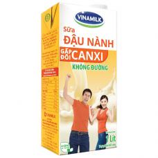 Sữa đậu nành Gấp đôi Canxi không đường