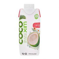 Nước dừa xiêm hương vị sen Cocoxim hộp 330ml